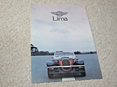 1970's PANTHER LIMA (UK) SALES BROCHURE.
