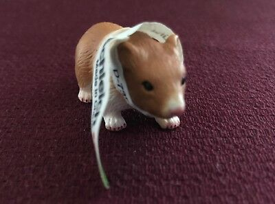 Schleich 14412 Hamster with Tag, Retired 2009