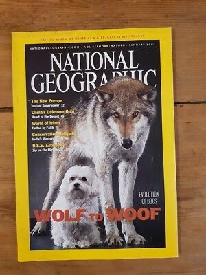 National Geographic Wolf to Woof January 2002