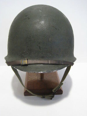 M1 Fixed Bale Helmet With Westinghouse Liner And United Carr Marked Chinstrap