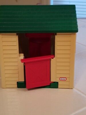 Vintage Little Tikes Dollhouse Sized Playhouse Cozy Cottage