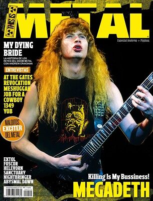 This is Metal Magazine Spain Issue 10, 2014 Megadeth My Dying Bride At The Gates
