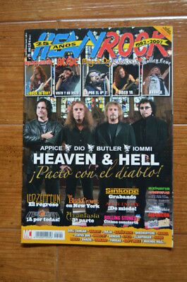 Heavy Rock Magazine Spain 290 - October 2007 - Heaven & Hell, Dio, Iomi, ACDC