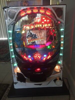 INDIANA JONES Pachinko Machine by SANKYO 2000 Japanese Slot Arcade Game INDY WOW