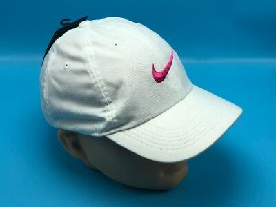78210d0049a NWT  Nike Aerobill Featherlight Dri-Fit white pink Unisex Cap Hat 729507-