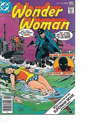Wonder Woman #234 (1977) (DC Comics) VF 1st Armageddon 30% off guide!