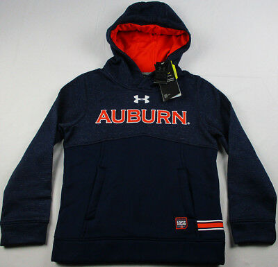 Auburn Tigers Under Armour Storm Sideline NCAA Fleece Hoodie Youth S, M, L NWT
