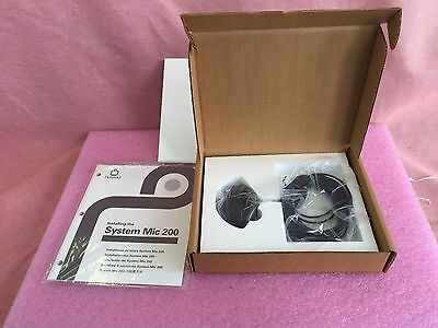 2 NEW  Picturetel  MIC-2 with CABLE and  Manual  540-0067-01 NIB