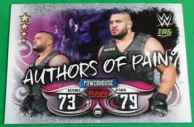 #328 Authors of Pain-Live 2018 Slam Attax