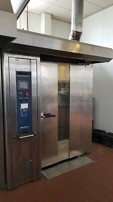 TMB Double Rotating Rack Oven Commercial Fast Recovery Times