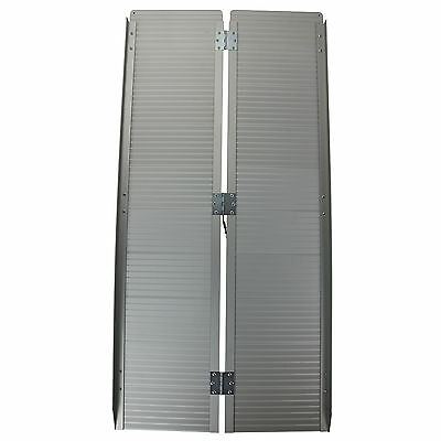 6 foot Folding Aluminium Ramp 300KG Wheelchair Loading Portable Scooter Ramps