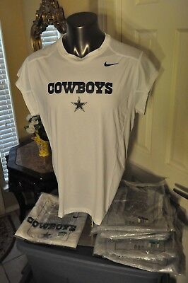 Dallas Cowboys NFL Nike On Field Dri-Fit Shirt (3.5in Sleeve) Multi sizes Colors
