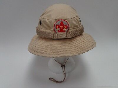 Boy Scout Boonie Hat With Troop 172 Patch Khaki - Size 7 1/2