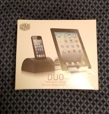 Cooler master DUO-Two piece Aluminum stand and dock for Iphone 4,4s,5 or 5s