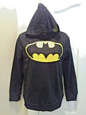 Batman Hooded Sweatshirt Boys Large (10-12)