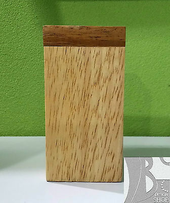 Pepper & Salt Medium Square Wooden box special or use decor kitchen