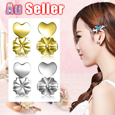 Support Lifts Hypoallergenic Fits Magic Bax Backs Studs Auxiliary Earrings Ear