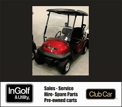 DEMO/DISPLAY 2018 Club Car PRECEDENT 48V Electric Golf Cart Buggie Buggy ERIC