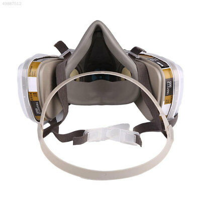 7704 Outdoor 7-in-1 Half Face 6200 Mask For Gas Spraying Respirator Protection