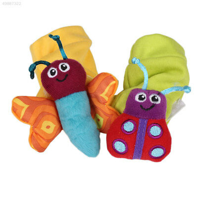 3EF6 Baby Infant Lovely Bee Toys Hosiery Stockings Socks Wristband Outfit Set