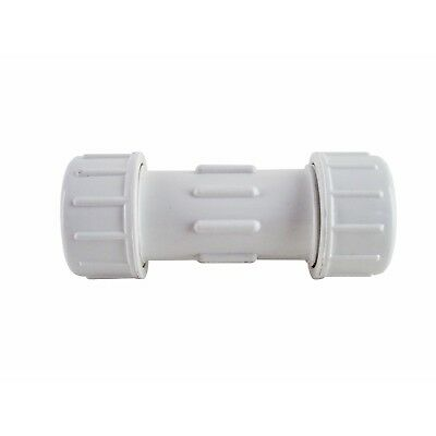 PVC Fittings - Compression Coupling - Irrigation - Plumbing - 20mm - CPC-750