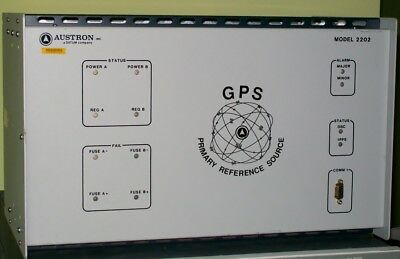 DATUM AUSTRON 2202 GPS primary frequency reference standard 10mhz RUBIDIUM