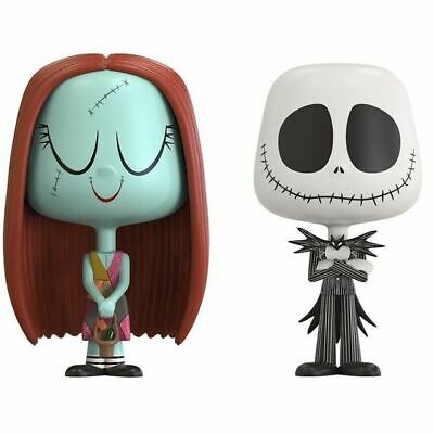 Funko Vynl NBC Jack Skellington and Sally Figure Set with Pop Protective Case