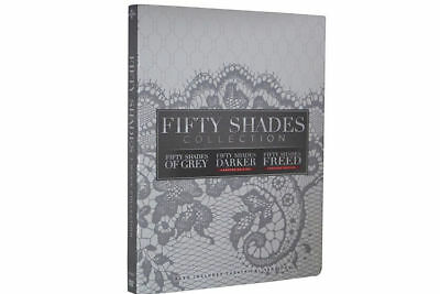 Fifty Shades 3 Movies Collection Box Set Movie, DVDs Set