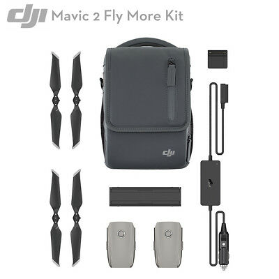 DJI Mavic 2 PRO / Zoom Fly More Kit with Bag Battery Charger Propellers,IN Stock