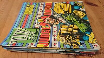 2000AD Monthly job lot