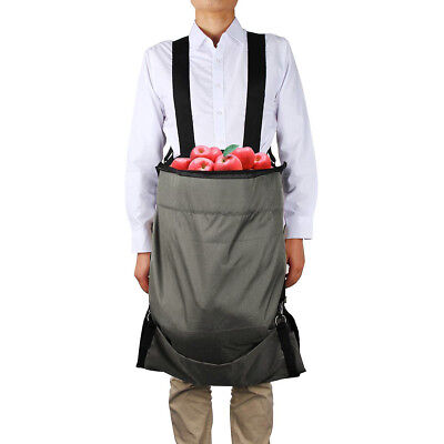 Oxford Cloth Durable Waterproof Harvest Fruits Picking Bag Wearable Apron Bag