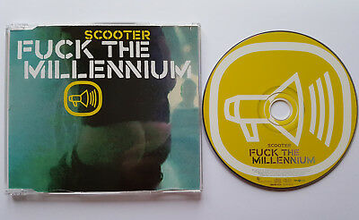 █▬█ Ⓞ ▀█▀  Ⓗⓞⓣ  FUCK THE MILLENNIUM  Ⓗⓞⓣ  3 Track CD  Ⓗⓞⓣ  SCOOTER  Ⓗⓞⓣ MCD  Ⓗⓞⓣ