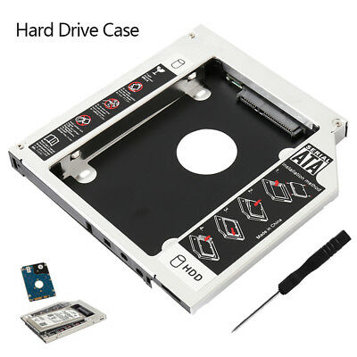 2,5'' Protector SATA HDD SSD 2nd Disco Duro Soport Caja Caddy Laptop CD/DVD-ROM