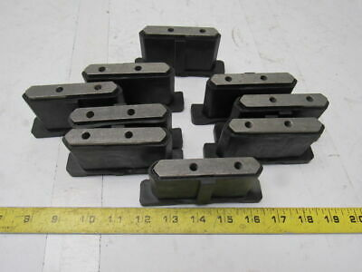 Dematic 06882-75004 2R Sliding Shoe Sorting Slat Conveyor End Caps Right Lot/9
