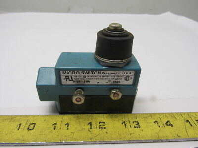 Micro Switch BZE6-2RN 15A 600V 250VDC 1NC-1NO SPDT Plunger Limit Switch