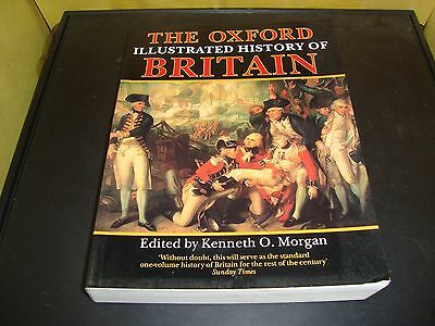 The Oxford Illustrated History of Britain Kenneth O Morgan Paperback Book EX