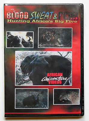 Blood, Sweat and Fear Hunting Africa's Big Five DVD African Adventure Videos
