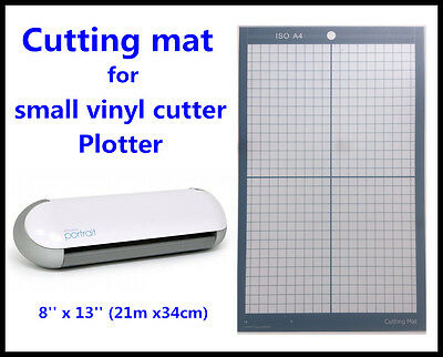 Cutting Mat 8'' x 13'' replacement Silhouette Portrait Cameo Vinyl cutter