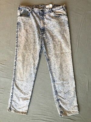 Levi's 540 Late 80s-90s Baggy Acid Wash Silvertab White Tag Size 32 W38 L32