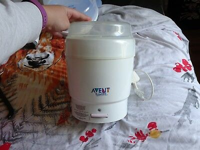 AVENT Naturally Express Electric Steam Baby Bottle Steroliser