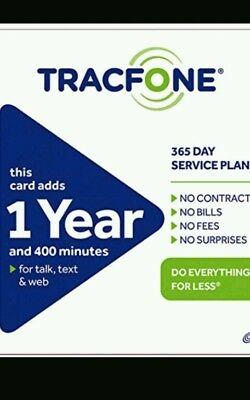 TracFone  1 Year 365 Days Service discount
