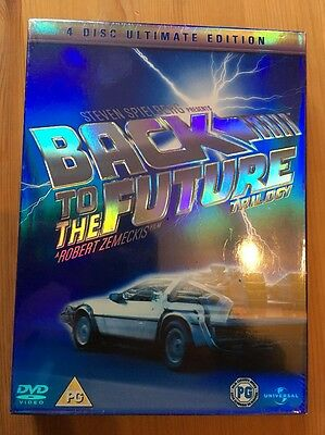 Back To The Future Trilogy - 4 Disc Ultimate Edition R2 & R4 DVD