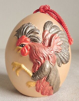 4 inch Japanese Clay Bell Dorei : design Chicken and Egg