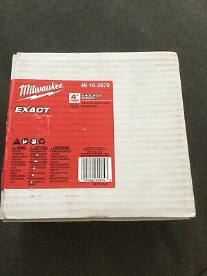 Milwaukee 49-16-2679 FORCE LOGIC EXACT 4 in. Steel Punch - IN STOCK