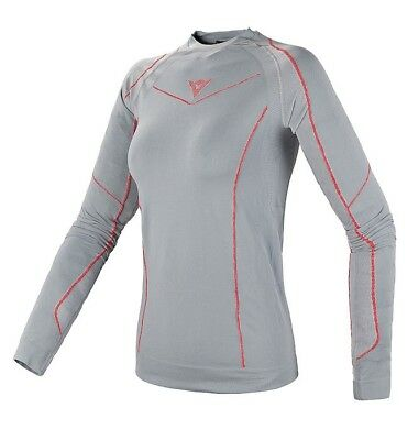 Dainese Dynamic-Cool Tech Shirt LS Damen Unterwäsche Grau S