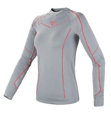 Dainese Dynamic-Cool Tech Shirt LS Damen Unterwäsche Grau L