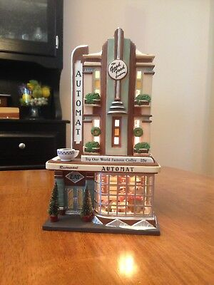 Dept 56/Christmas in the City Series - Clark Street Automat #56.58954