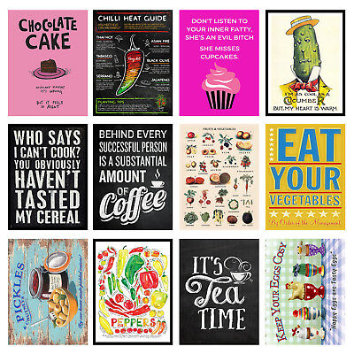 Kitchen Retro Style Metal Fridge Magnets, Home Decor Ideal Gift. 100mm x 75mm 3