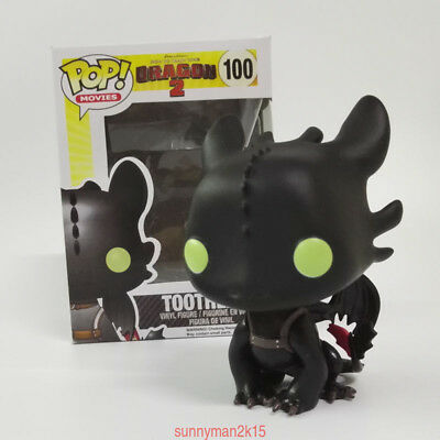 Funko POP Movie How to Train Your Dragon 2 Toothless PVC Action Figure Toys