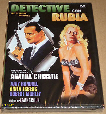 DETECTIVE CON RUBIA / THE ALPHABET MURDERS - English Español - Precintada